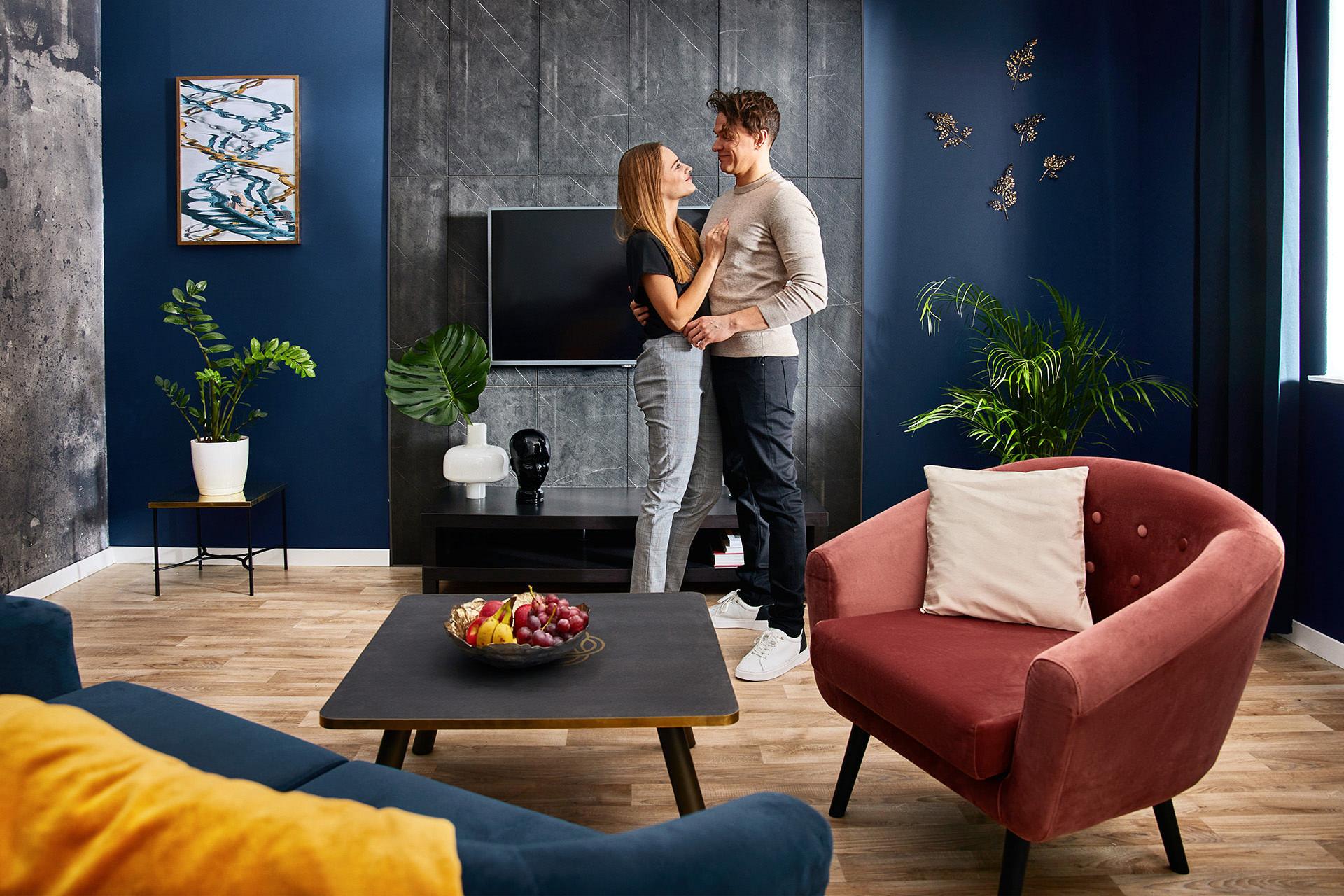 Produkcja fotografii reklamowej dla Walldesign, Swiss Krono - Mateusz Drozd