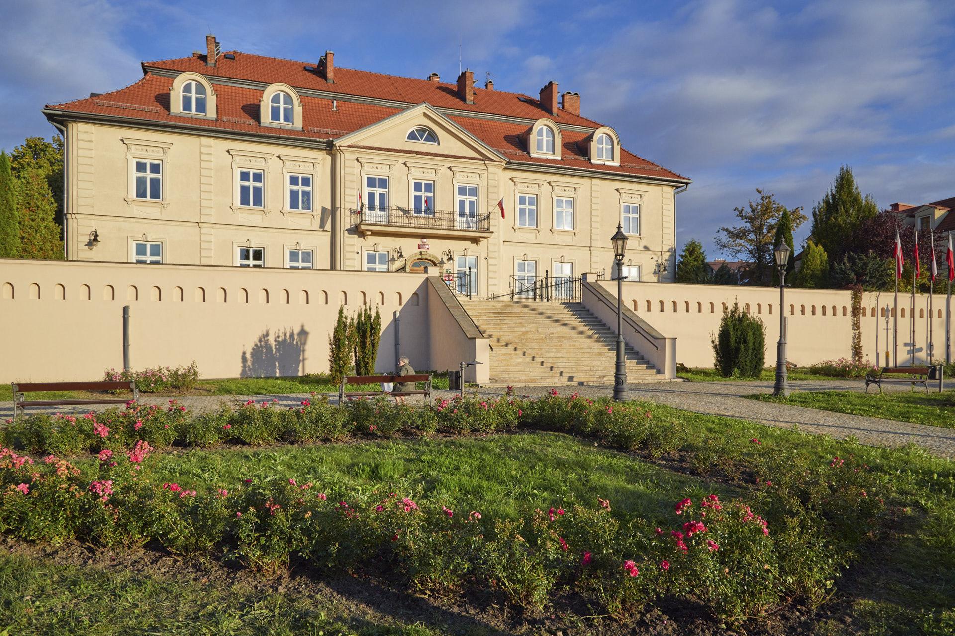 Fotografia zabytku w sercu Wieliczki