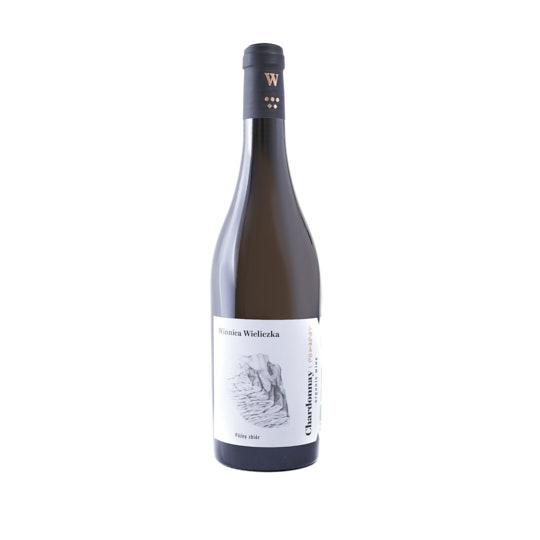 Fotografia produktowa wina Reisling z Winnicy Wieliczka