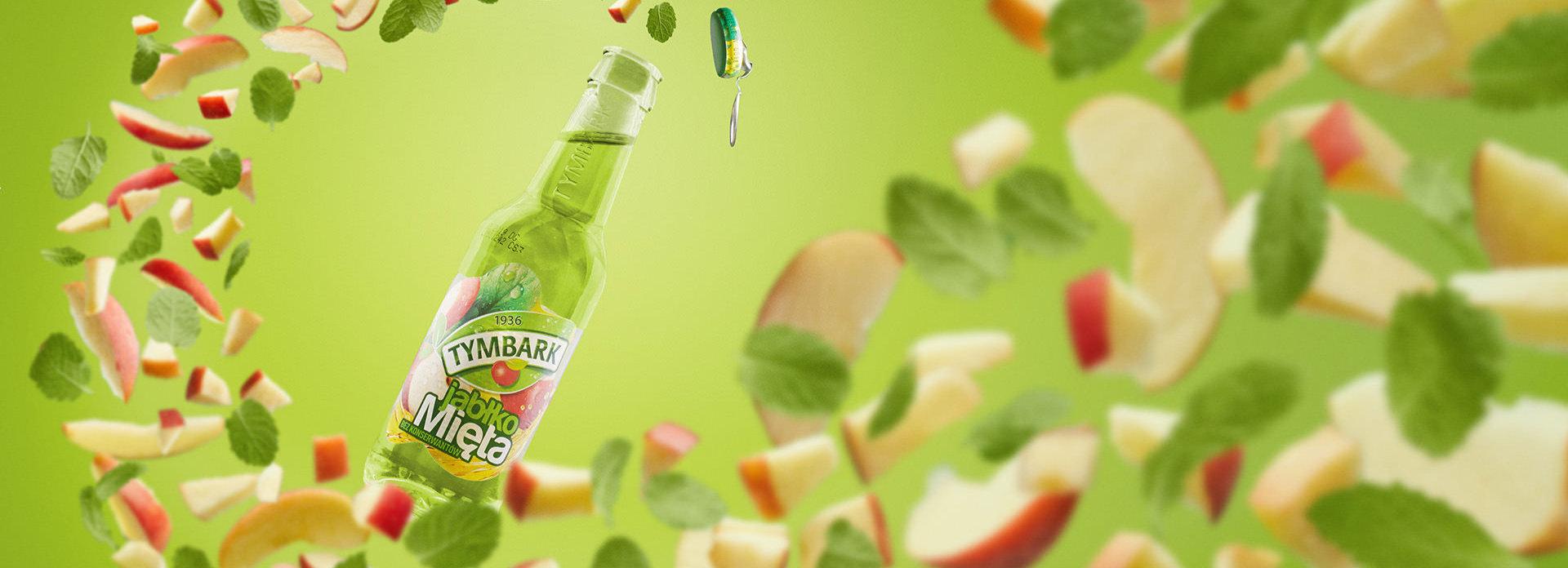 Fotografia reklamowa typu key visual dla marki Tymbark